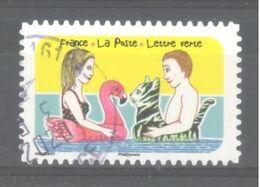 France Autoadhésif Oblitéré (Espace Soleil Liberté N°7) (cachet Rond) - Usati