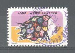 France Autoadhésif Oblitéré (Espace Soleil Liberté N°8) (cachet Rond) - Usati