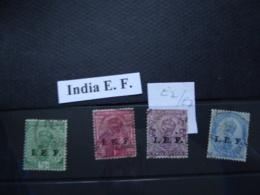 INDIA I.E.F SG E2-E6 Fine Used As Per Scan - Zonder Classificatie