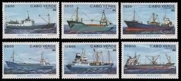 Kap Verde 1980 - Mi-Nr. 431-436 ** - MNH - Schiffe / Ships - Kap Verde
