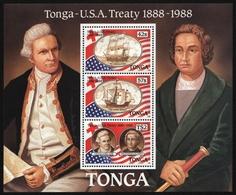 Tonga 1988 - Mi-Nr. Block 13 ** - MNH - Schiffe / Ships - Tonga (1970-...)
