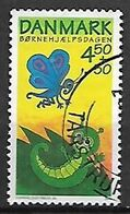 DANIMARCA 2004 GIORNATA DELL'INFANZIA UNIF. 1363 USATO VF - Danimarca