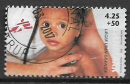 DANIMARCA 2004 MEDICI SENZA FRONTIERE SEZIONE DANESE UNIF. 1340 USATO VF - Danimarca