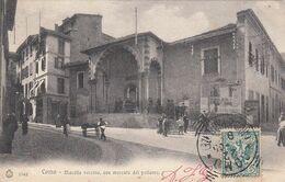 COMO-MACELLO VECCHIO ORA MERCATO DEL POLLAME-CARTOLINA VIAGGIATA IL 22-11-1905 - Como