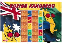 AUSTRALIA 2004 BK The Boxing Kangaroo: Personalised Sheet UM/MNH - Hojas Bloque