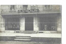 CARTE PHOTO MAGASIN GROS PLAN K . STOCKLIN     ? Pas De Mention Au Dos C;p - A Identificar