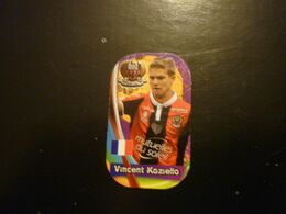 Koziello Vincent OGC Nice French Football Soccer Greek Europe's Champions 2018 Metal Tag - Andere