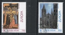 Europa CEPT 1993 Vatican - Vatikanstadt Y&T N°959 à 960 - Michel N°1099 à 1100 (o) - 1993