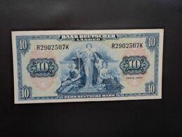RÉPUBLIQUE FÉDÉRALE ALLEMANDE * : 10 DEUTSCHE MARK   22.8.1949    CA 258R, **/ P 16a       TTB+ - 10 Deutsche Mark