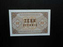 RÉPUBLIQUE FÉDÉRALE ALLEMANDE * : 10 PFENNIG   ND 1967    CA 315, **/ P 26       NEUF - [13] Bundeskassenschein