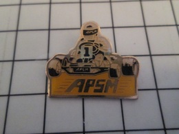 1116c Pins Pin's / Rare & Belle Qualité THEME SPORTS / KARTING APSM - Automobilismo - F1