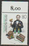 BRD 1984 MiNr.1198 ** Postfrisch 150.Geb. Philipp Reis ( A3722 )günstige Versandkosten - Ongebruikt