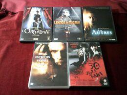 LOT DE 5 DVD    10 EUROS  °°   REF  16 - DVDs