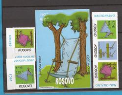 STALNO -2   2007   KOSOVO SERBISCHE TEIL EUROPA CEPT SCAUTEN SELTEN IM ANGEBOT MNH - Europa-CEPT