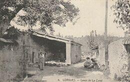 83  LORGUES Lavoir De La Canal (ou Du Canal) - Lorgues