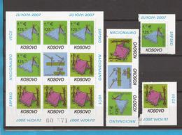 STALNO -2   2007   KOSOVO SERBISCHE TEIL EUROPA CEPT SCAUTEN  SCOUTISMO  SELTEN IM ANGEBOT MNH - Europa-CEPT