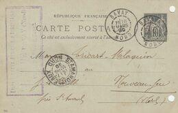 ENTIER SAGE 10C ETS DEROME BAVAY NORD 1899 MISE EN ROUTE D UNE LOCOMOBILE - Landbouw