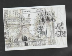 "FRANCE / 2020 / Y&T N° 5416 En Feuillet ? ** : ""Trésors De Notre-Dame"" (Façades) X 1 - Ongebruikt"