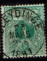 26  Obl  Sleydinge  + 10 - 1869-1888 Lying Lion