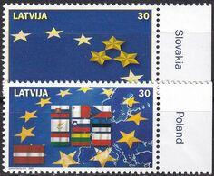 LETTLAND 2004 Mi-Nr. 611/12 ** MNH - Lettonia