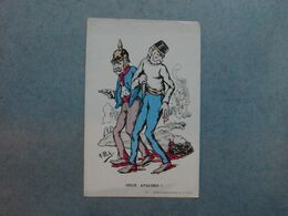 """CARTE ILLUSTRATEUR  -  A.PICK  """"  Deux Apaches """"  -  Guerre 1914  -  1918 - Altre Illustrazioni"""