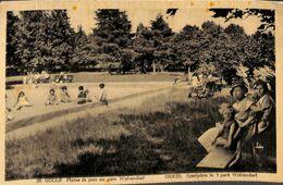 Uccle - Plaine De Jeux Au Parc Wolvendael (1934, Photo Belge Lumière) - Ukkel - Uccle