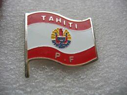 Pin's Du Drapeau De TAHITI En Polynésie Francaise - Steden
