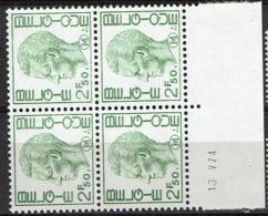 M 4 Bloc 4 **  Cd  13V74 - Military (M Stamps)