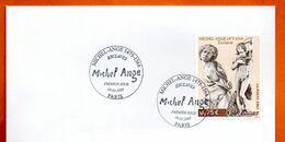 MAURY N° 3540 MICHEL ANGE  PARIS Lettre Entière N° RS 344 - 1961-....