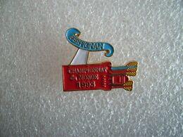 Pin's Championnat Du Monde 93 Perpignan - Tiro Con L'Arco