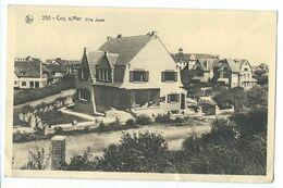 De Haan  Pk Cpa Villa Josée - De Haan