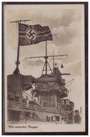 Dt- Reich (006180) Propagandakarte Mit Wehender Flagge!!, Ungebraucht - Briefe U. Dokumente