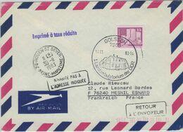 Golssen 1983 - Erstes Landambulatorium Der DDR - Nach Mesnil Esnard - 76 Rouen-si Sever  - Unbekannt Retour - Médecine