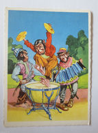 """Affen, Trommel, Saxophone, Akkordeon"" 1950  ♥  - Affen"