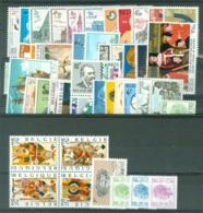 Belgique  COB  Année  Complete 1973   * *  TB   Voir Scan Et Description - Annate Complete