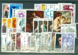 Belgique COB   Année  Complete 1976   * *  TB   Voir Scna Et Description - Annate Complete