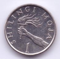 TANZANIA 1992: 1 Shilingi, KM 22 - Tanzania
