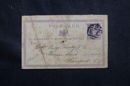 ROYAUME UNI - Entier Postal Commercial De Londres En 1870 Pour Londres - L 70591 - Interi Postali