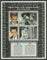 Grenada Grenadines, 1999, Cinema, Movie, Film, Actors, MNH Sheet, Michel 2963-2966 - Grenada (1974-...)