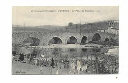 Cpa Le Vivarais Pittoresque - JOYEUSE - Le Pont De Rosieres - Joyeuse