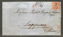 Lettre De 1864 ( France ) - 1862 Napoleone III