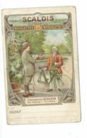 Scaldis Rijwielen Bicyclette Moto Antwerpen Publi Cpa Pk 1900' - Motorbikes