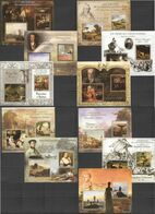 PE 2013 ART GREAT PAINTERS & PAINTINGS ROMANTISM & REALISM 11BL MNH - Other