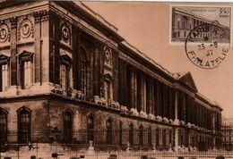 Carte Maximum Avec N°780 Colonnade Du Louvre Oblitérée Paris Philatélie 23/8/47 - 1940-49