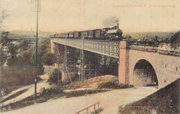 Eisenbahnbrücke über Die Thur In Schwarzenbach Jonschwil Schweiz 1909 - SG St. Gallen