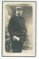 Politie Doodsprentje Commissaris Zaventem +1935 Foto Colpaert - Religion & Esotericism
