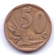 SOUTH AFRICA 2003: 50 Cents, KM 330 - Sud Africa