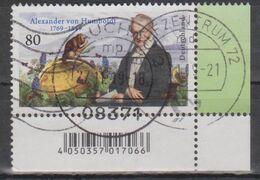 Deutschland 2019. Alexander Von Humboldt, Mi 3492 Gebraucht - [7] République Fédérale