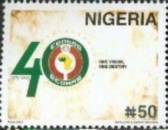 Nigeria 2015 Joint Issue CEOWAS 1v Mint - Nigeria (1961-...)