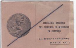 Document De Transport.Fédération Nationale Des Syndicats De Négociants En Charbons .Paris 10é Arr.) - Transport